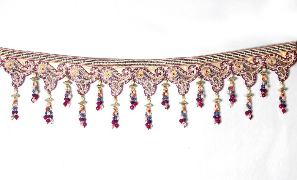Designer Toran Bandarwar With Exclusive Heavy Border