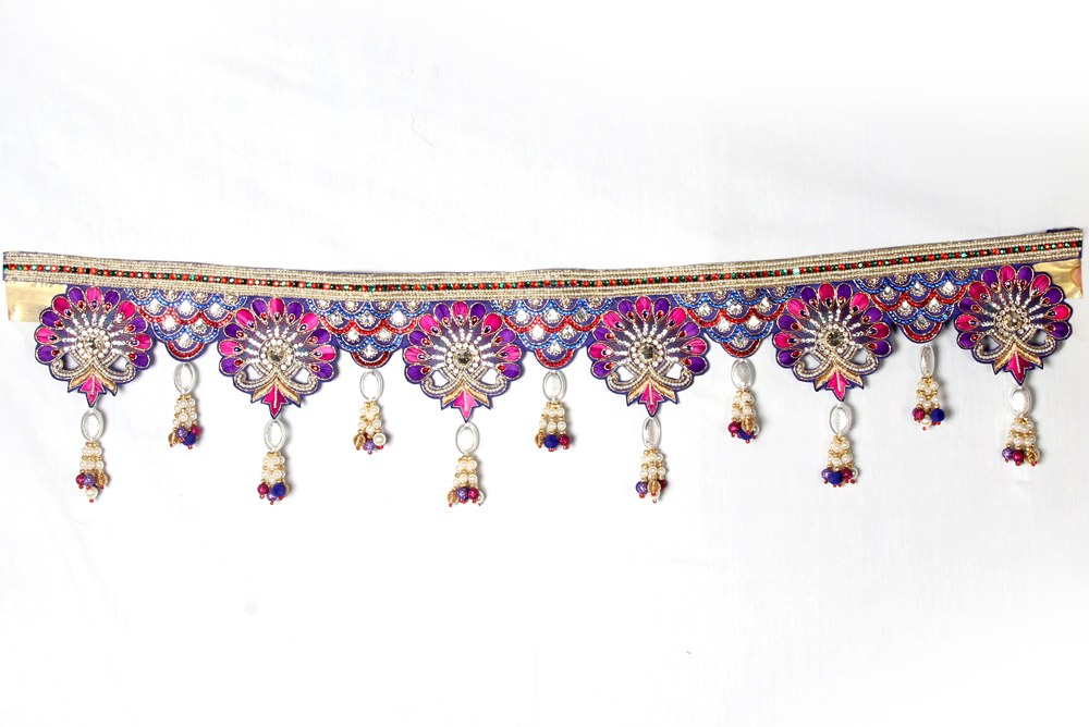 Designer border bandarwar toran exclusive for gate for Art decoration international pvt ltd