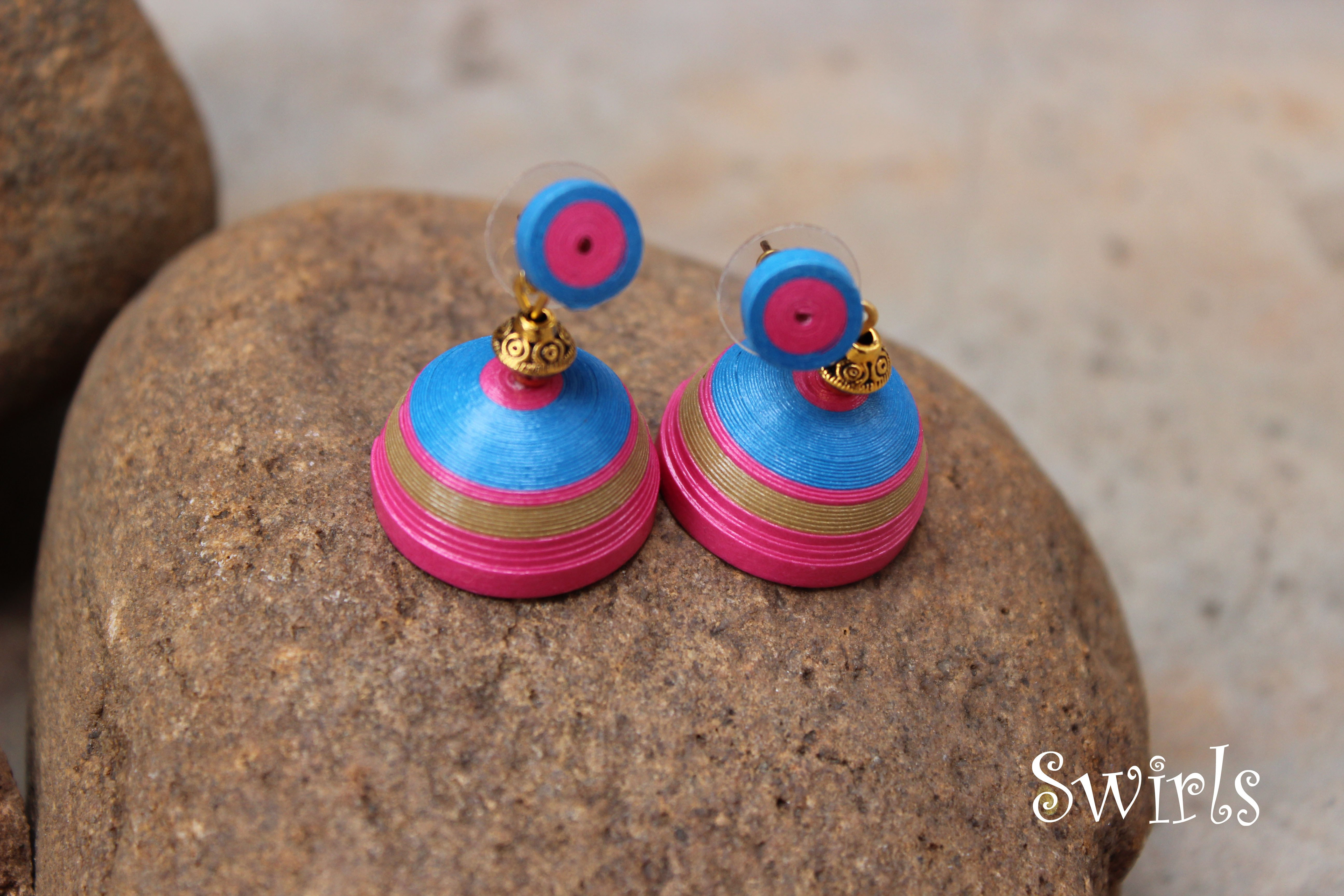 Quilling Paper Earrings Making Video Quilling is it Can Make Paper