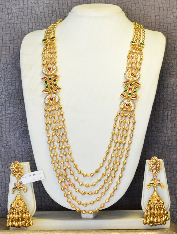 Simple gold necklace with price