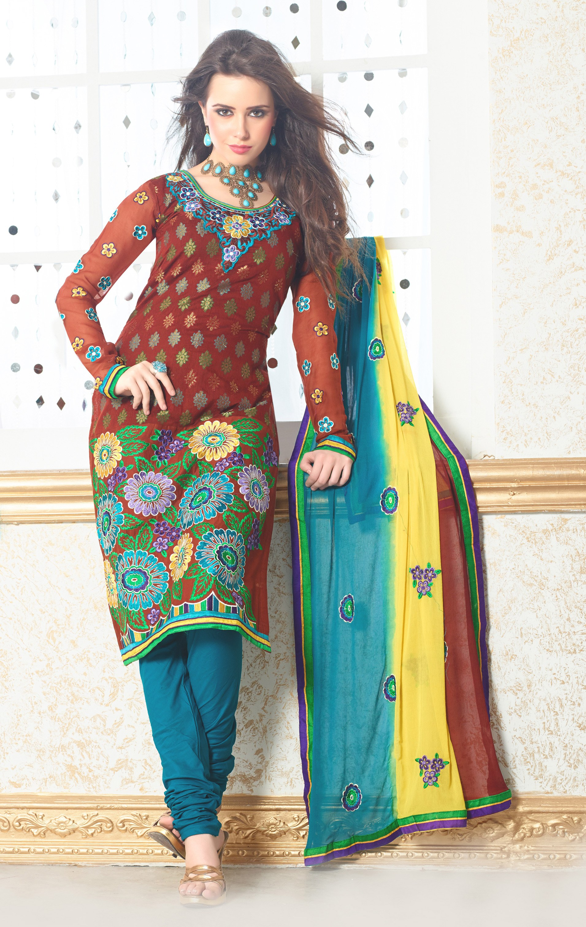 Ladies Cotton Suit  Cotton Salwar Kameez Latest Price