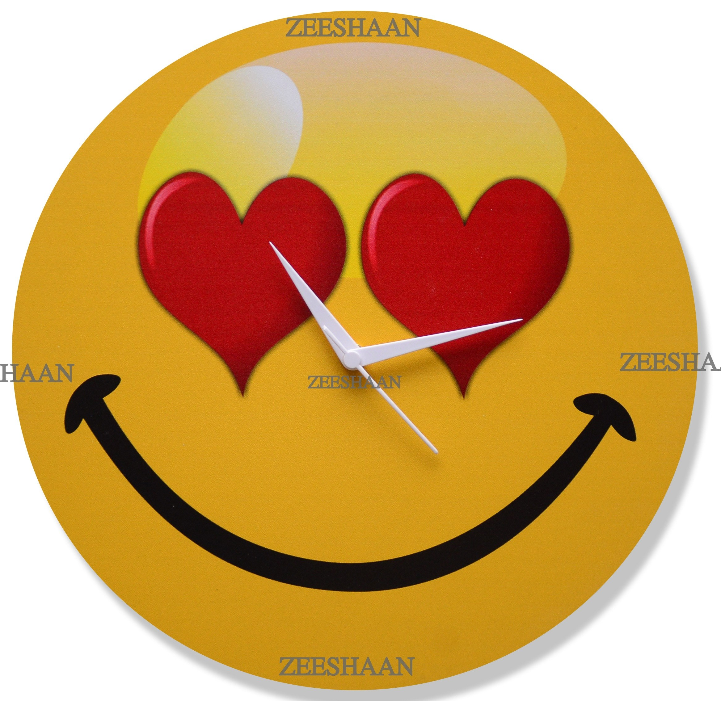 hearty smiley online shopping for clocks by zeeshaan