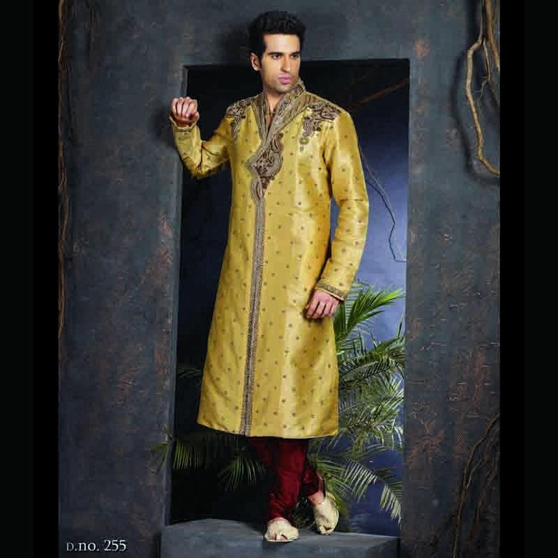 Designer Ethnic Wear Indian Wedding Kurta For Men Online Shopping