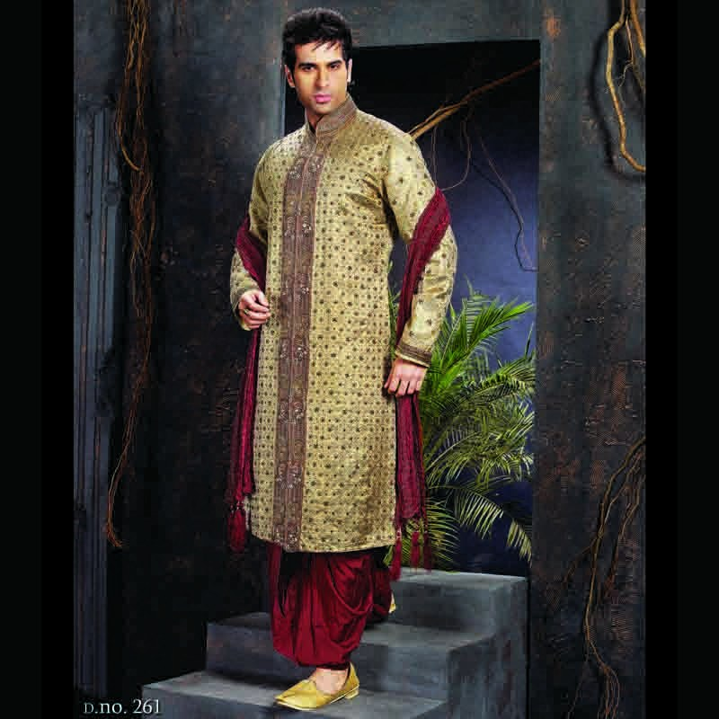 Designer Traditional Indian Wedding Sherwani Online Shopping