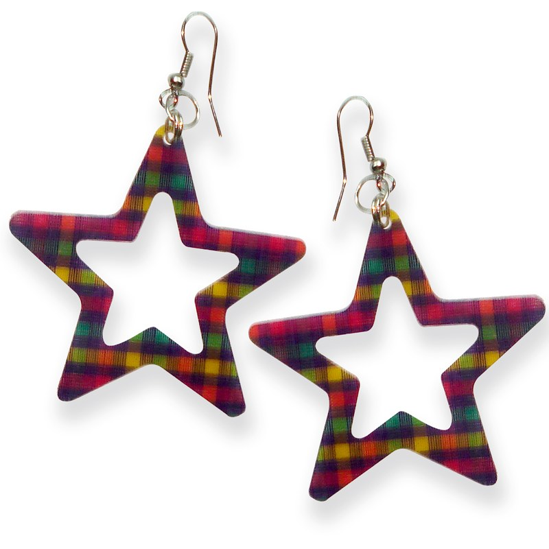 Mischika resin star shaped earring 09e 139 online shopping - The star shaped villa ...