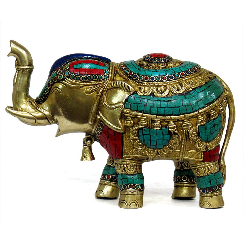 Brass elephant home decor online shopping Elephant home decor items