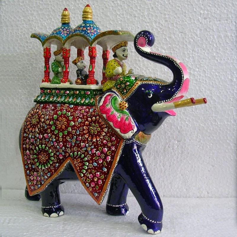 Decoratives Majestic Elephant-Online Shopping