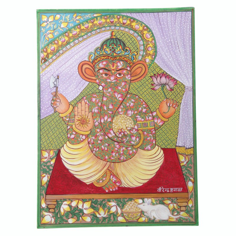 Beautiful Paintings of Lord Ganesha Painting of Lord Ganesha