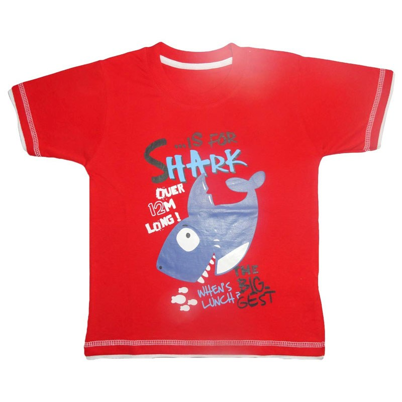 fancy printed t shirts red clothing kidz shop