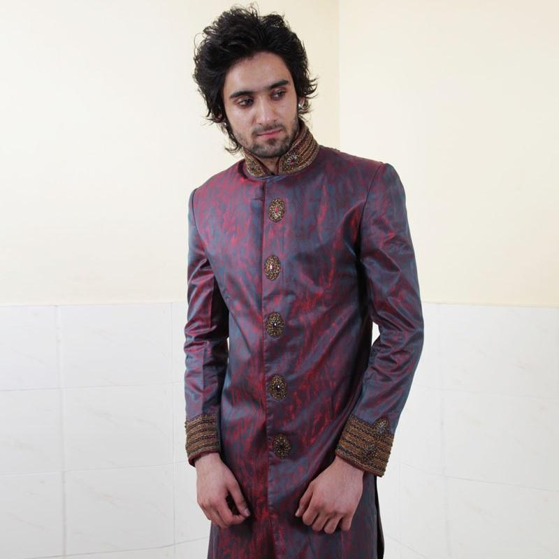 Indo Western Sherwani Online Shopping Indo-western-style-sherwani