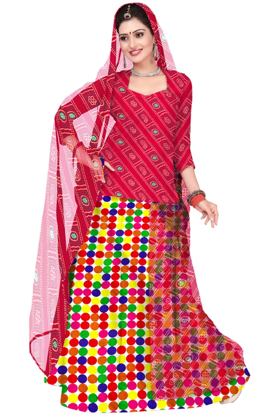 Creative Admyrin OffWhite And Red Rajasthani Poshak  Buy Admyrin OffWhite