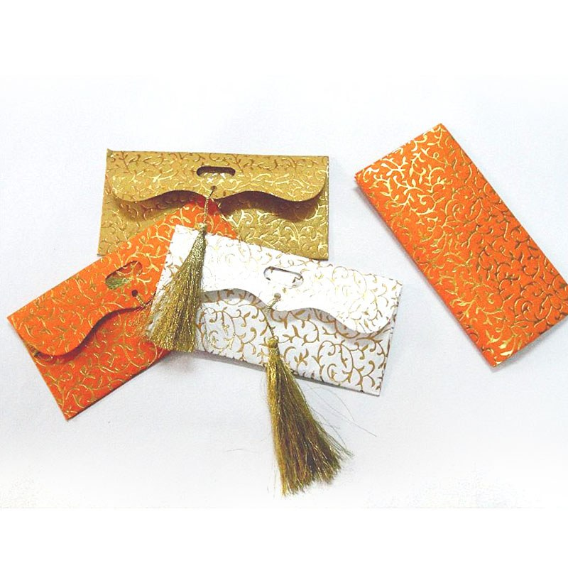 Eco Friendly Money Shagun Gift Envelopes Enclosures With Tussels -Home ...