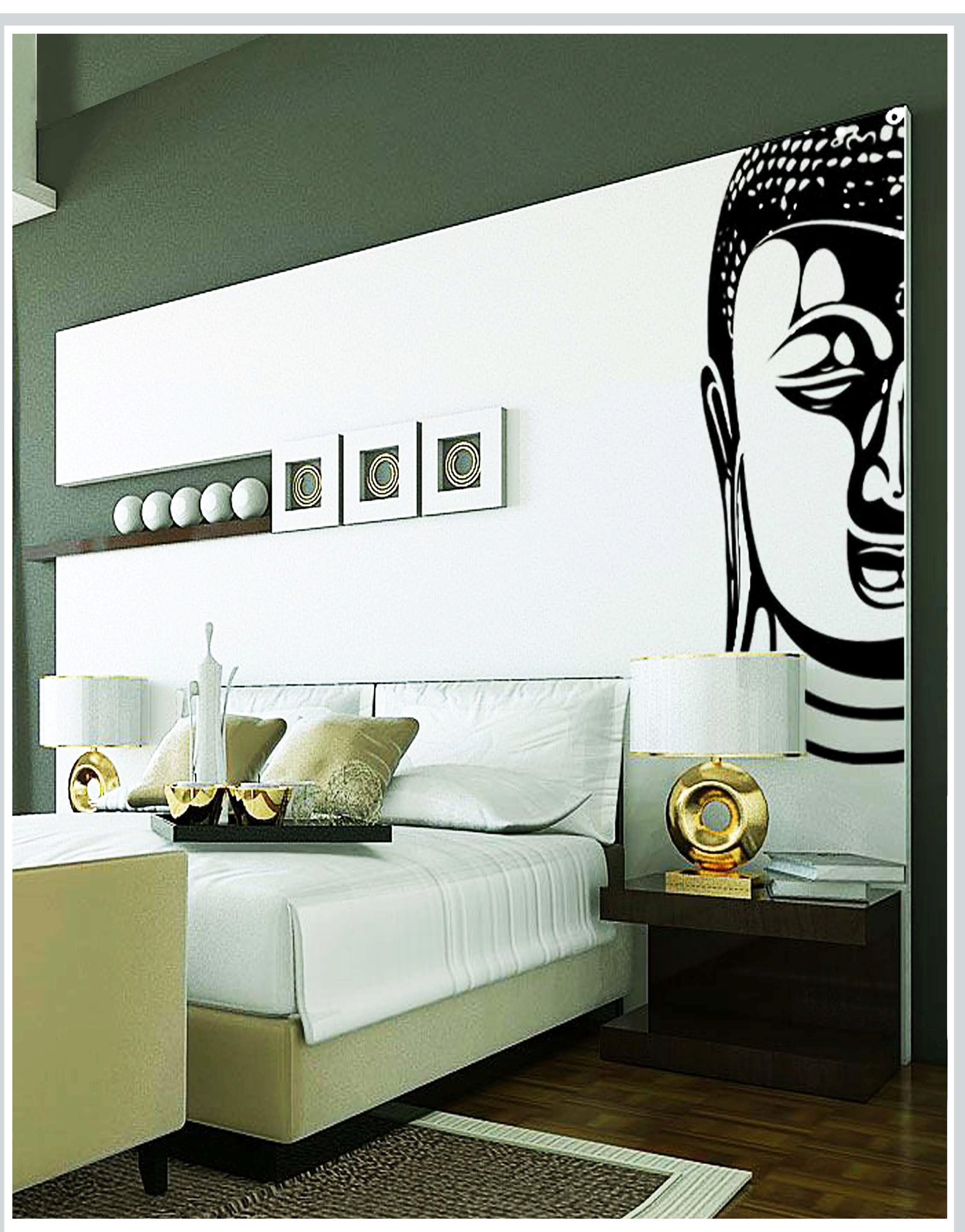 Gloob Decal Style Buddha Wall Sticker Art Wall N