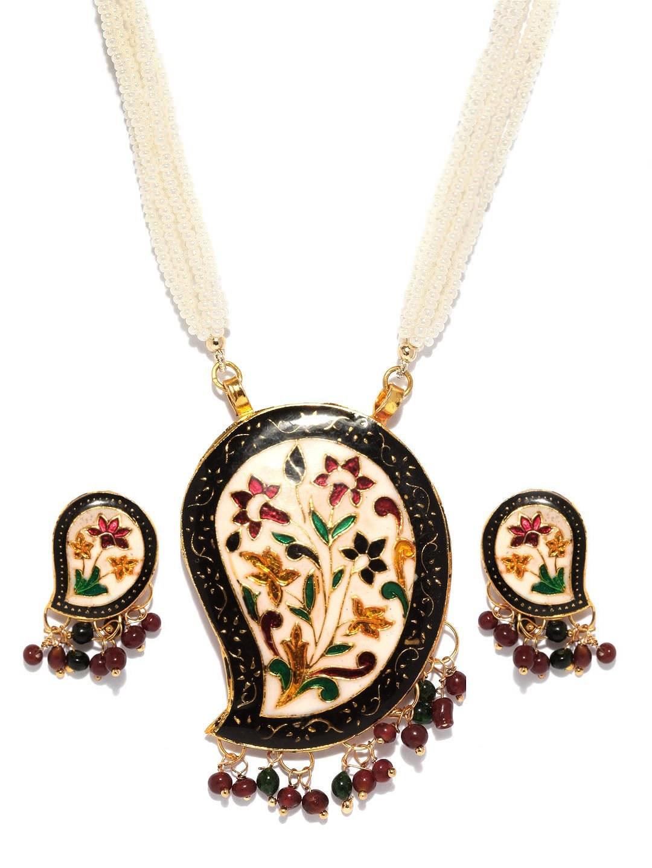 handmade meenakari jewellery necklaces by jaipur vogue