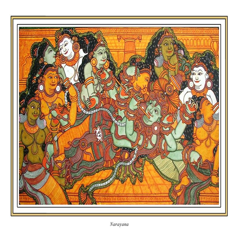 Indian Mural Art Designs : Kerala Mural Art Designs Kerala Mural Art is a