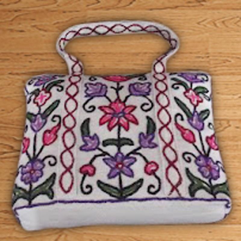 Kashmir crewel bag cashmere couture online shopping