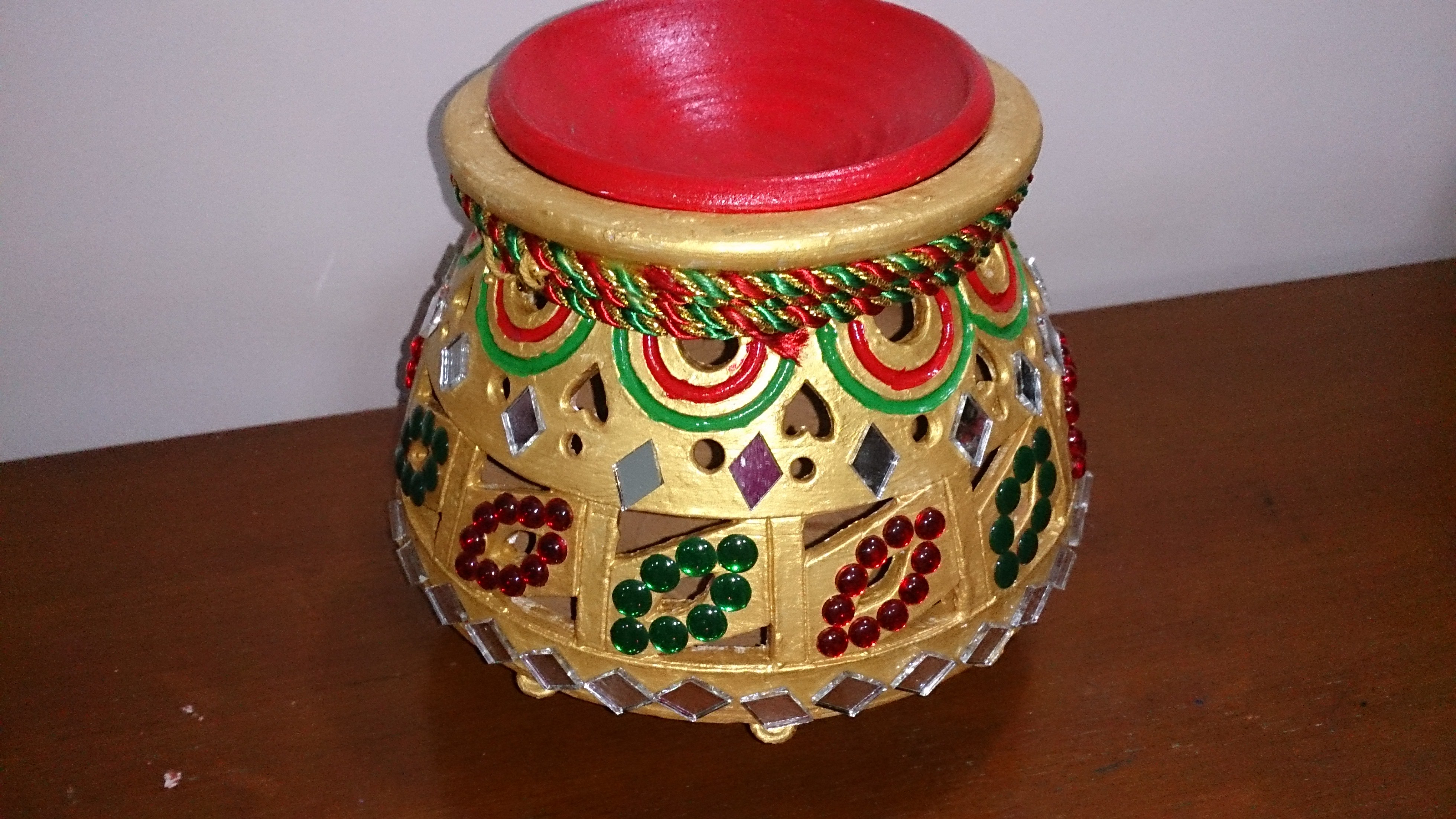 garba 2 matka earthen pot navratri decoration diwali