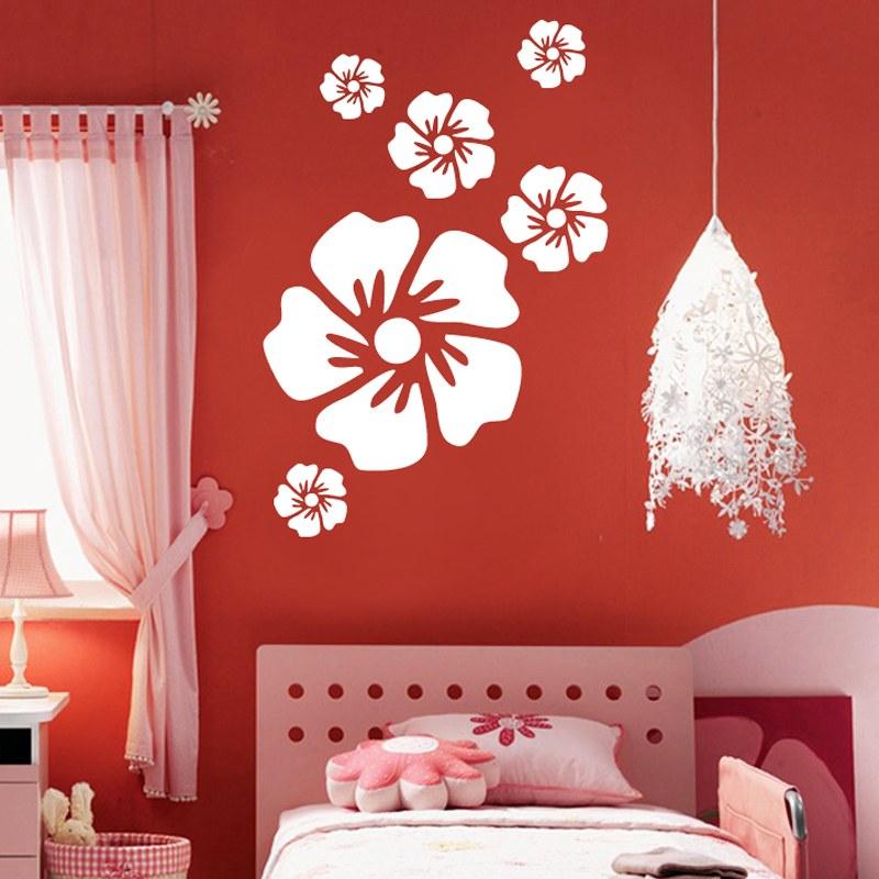 White Flower Wall Decal Sticker Melmai Wall Decals Online Shopping