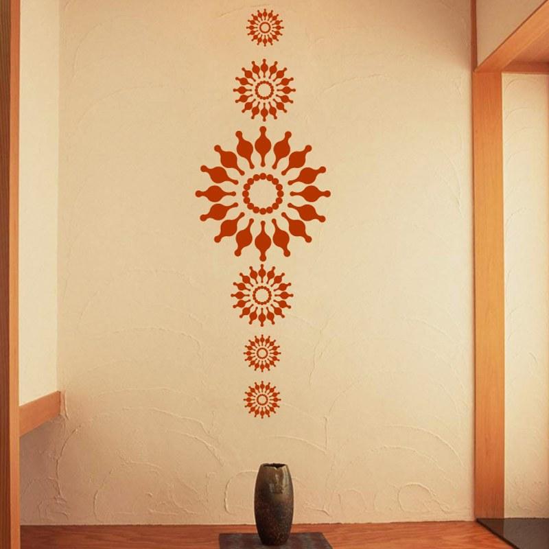 Sun Flower Wall Decal Sticker Melmai Wall Decals Online Shopping