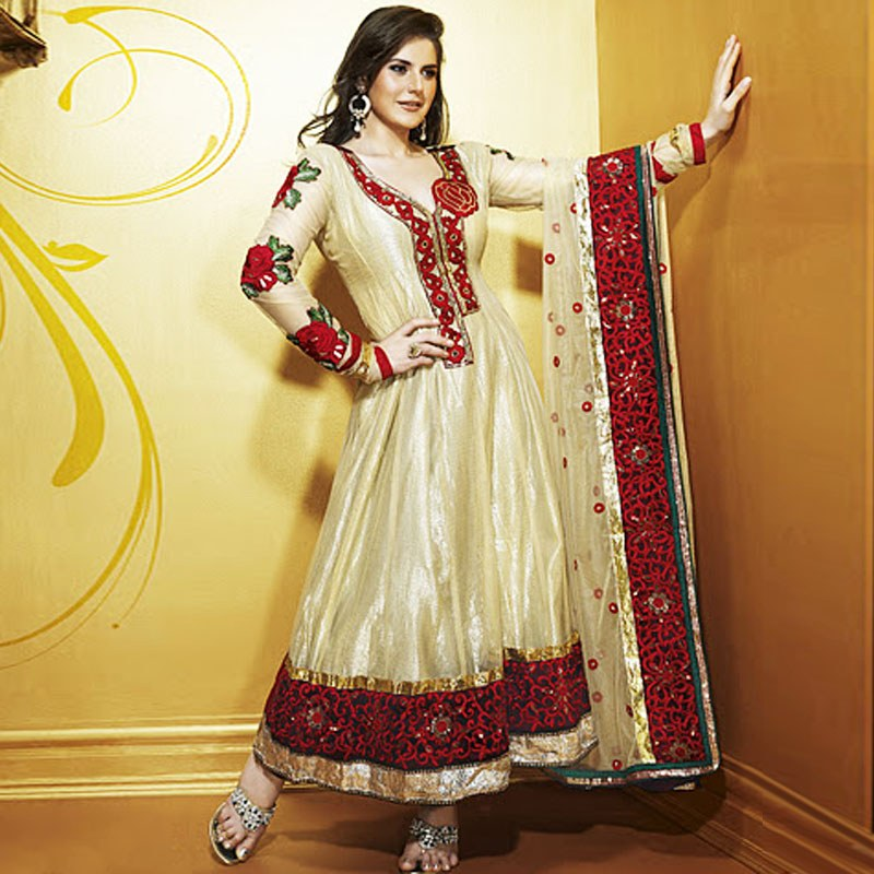 a Gorgeous Anarkali Suit Which