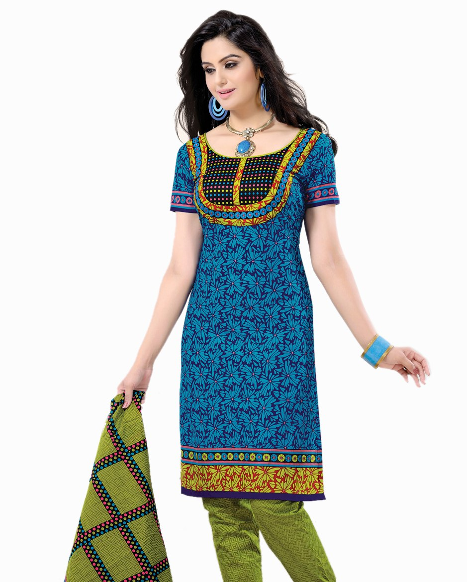 Ladies Dress Material With