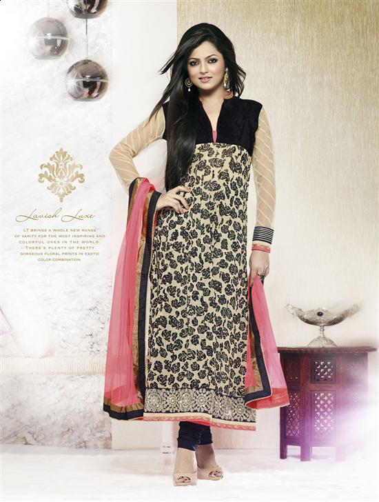 SimpleSarees Designer Madhubala Drashti Dhami Long Anarkali - Dress ...
