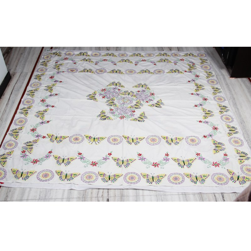 Fully Embroidered Bed Sheet SetOnline Shopping0