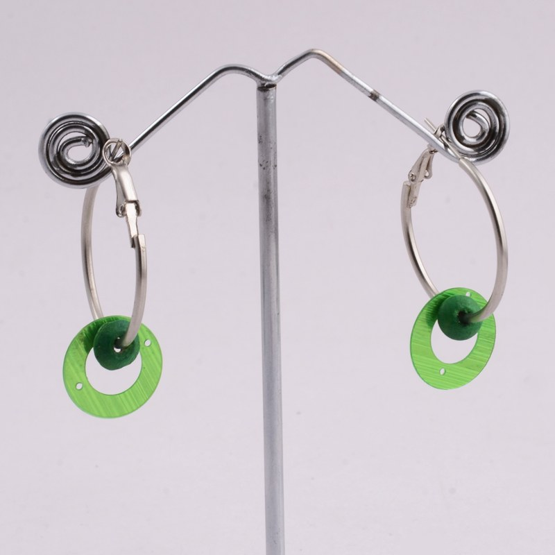 multicolor ring hanging earrings shopping