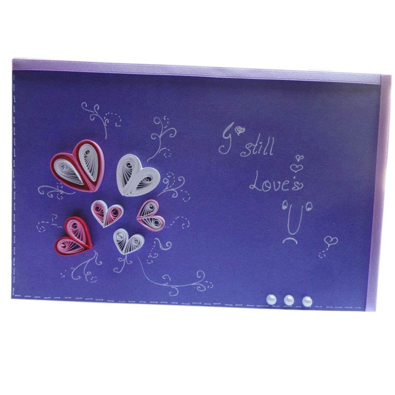 """""""Love"""" Paper Card-Online Shopping-"""