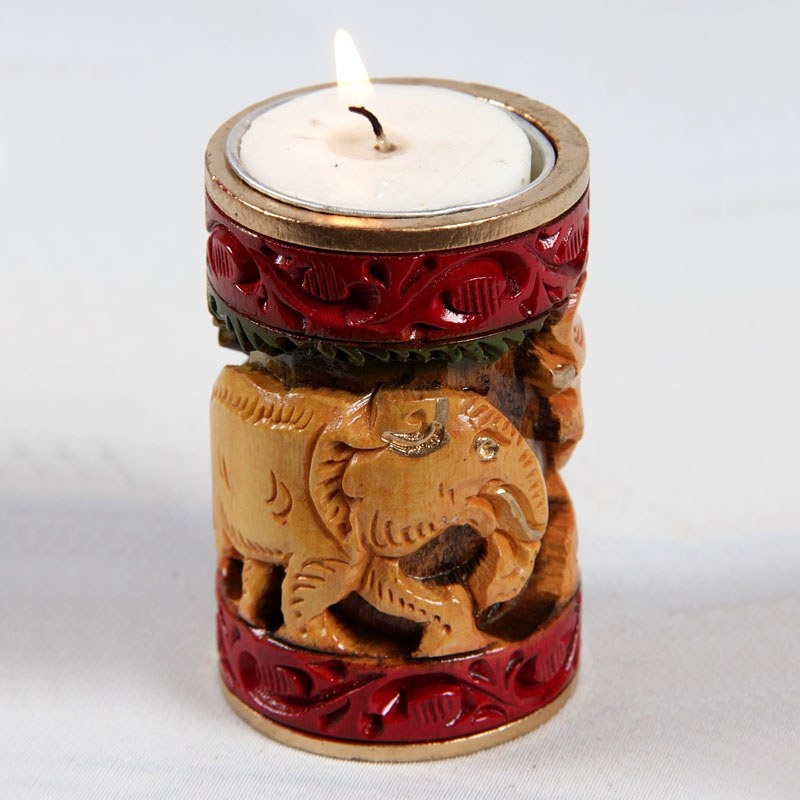 Royel elephant candle online shopping Elephant home decor items