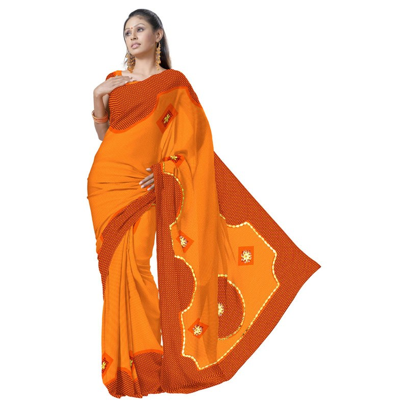 Color Cotton Paper Colorful Cotton Saree With