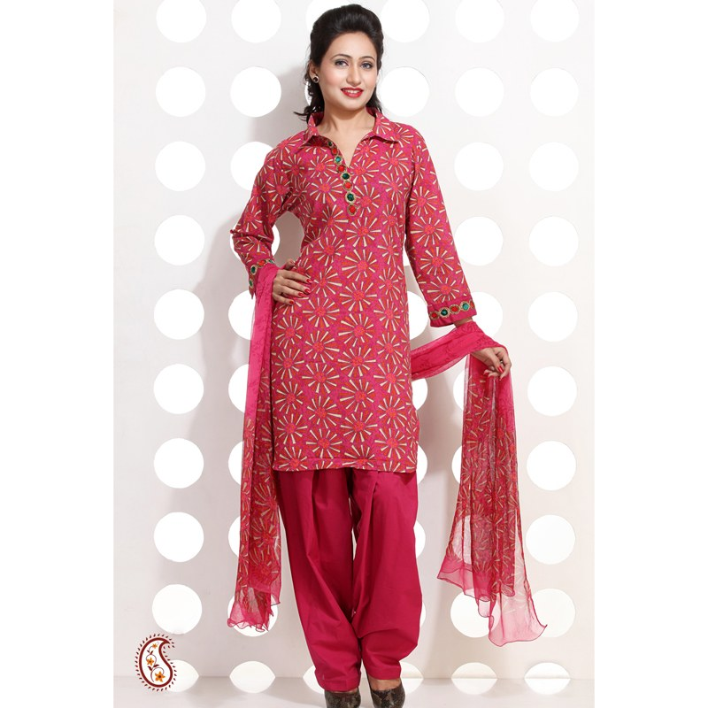 Cotton Stitching Design Design Pure Cotton Salwar