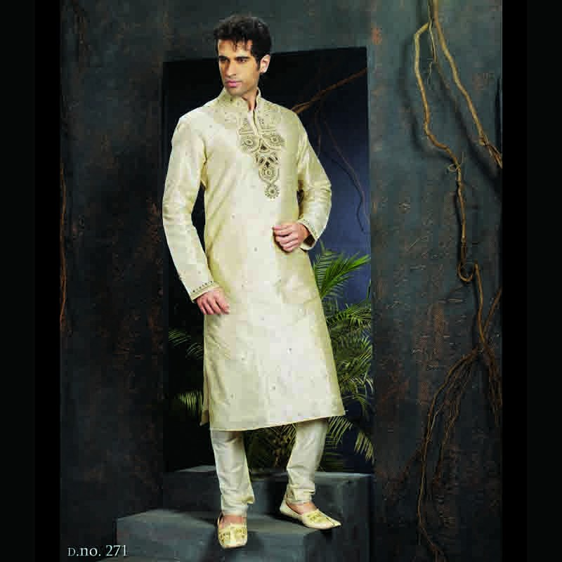 Stylish Trendy Indian Wedding Men 39 S Kurta Churidar