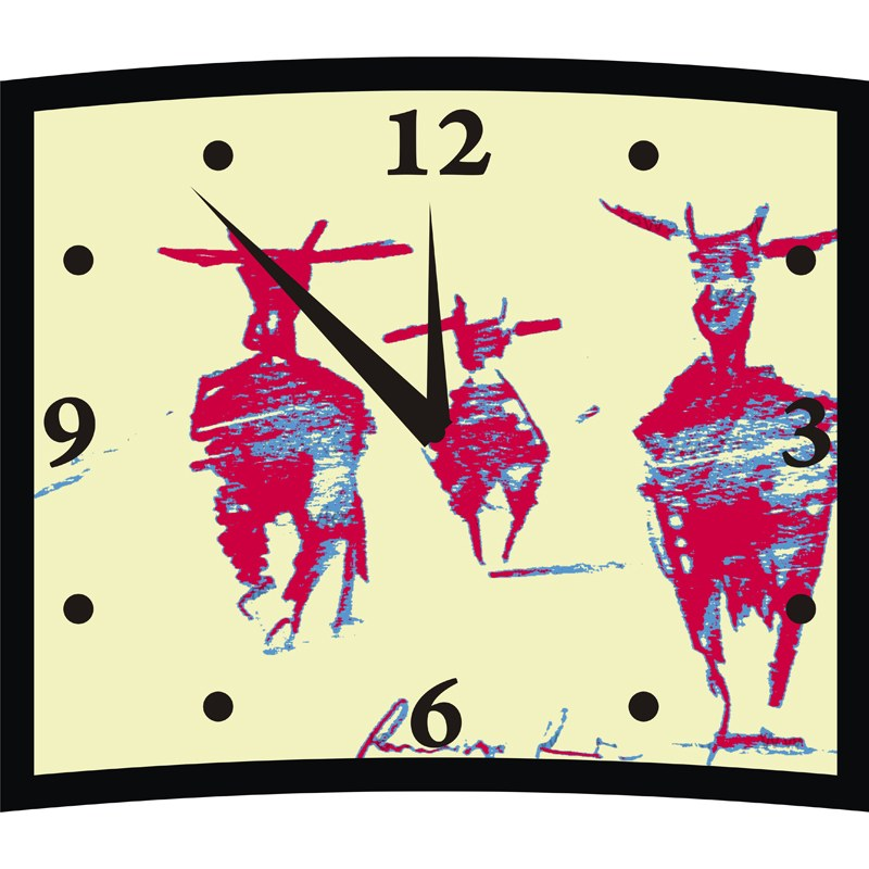 yellow wall clock online shopping