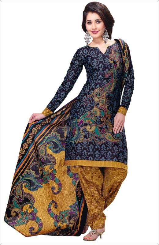 Cotton Designer Printed Dress