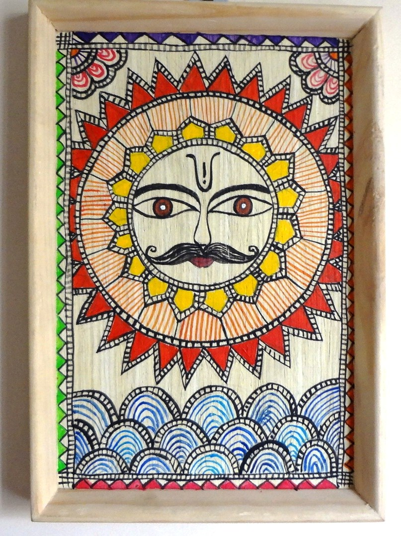 Pictures Of Madhubani Painting Designs