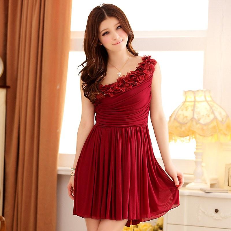 Dresses Maroon