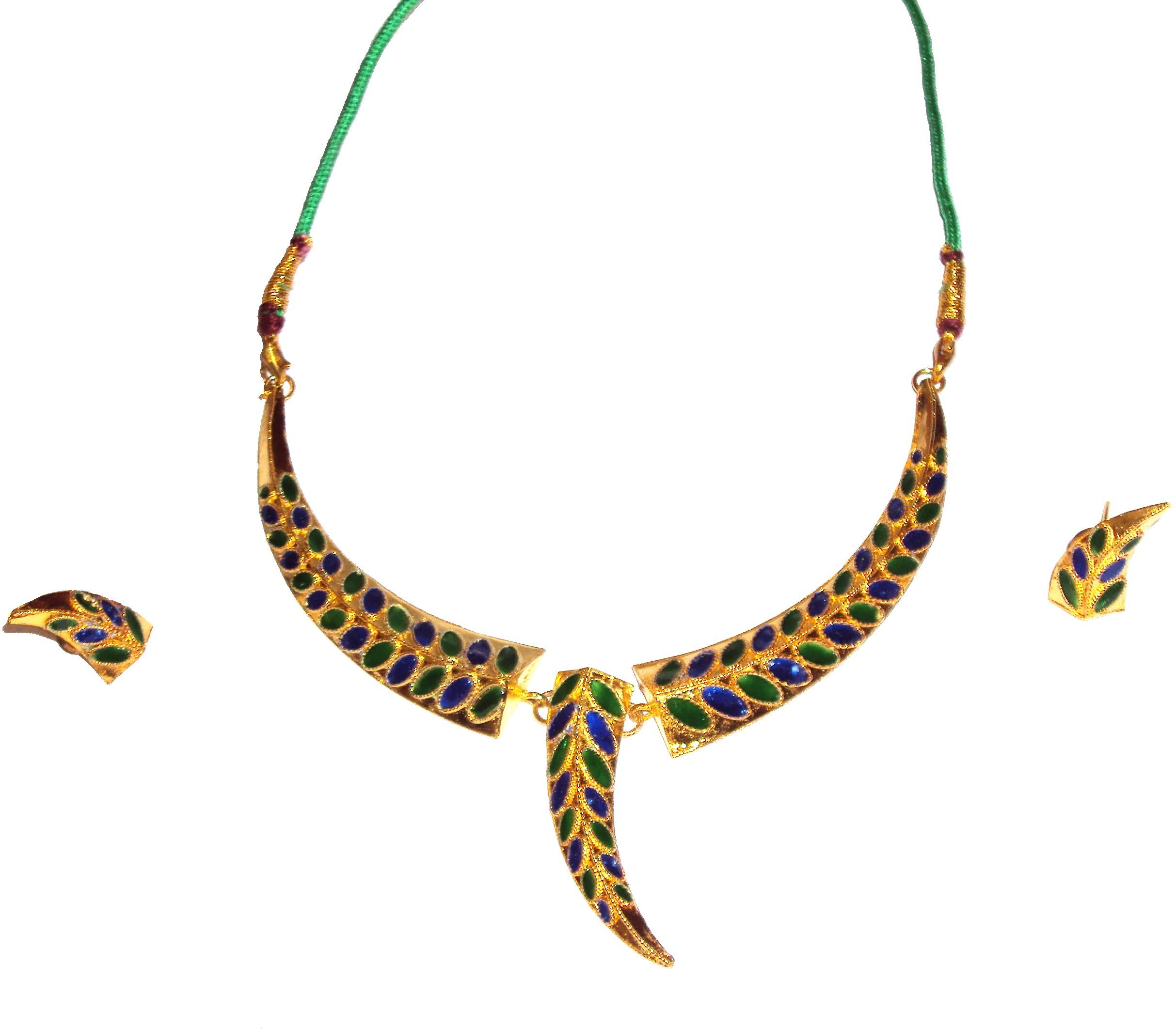 Ethnic handmade indian assamese jewellery pepa and for East indian jewelry online