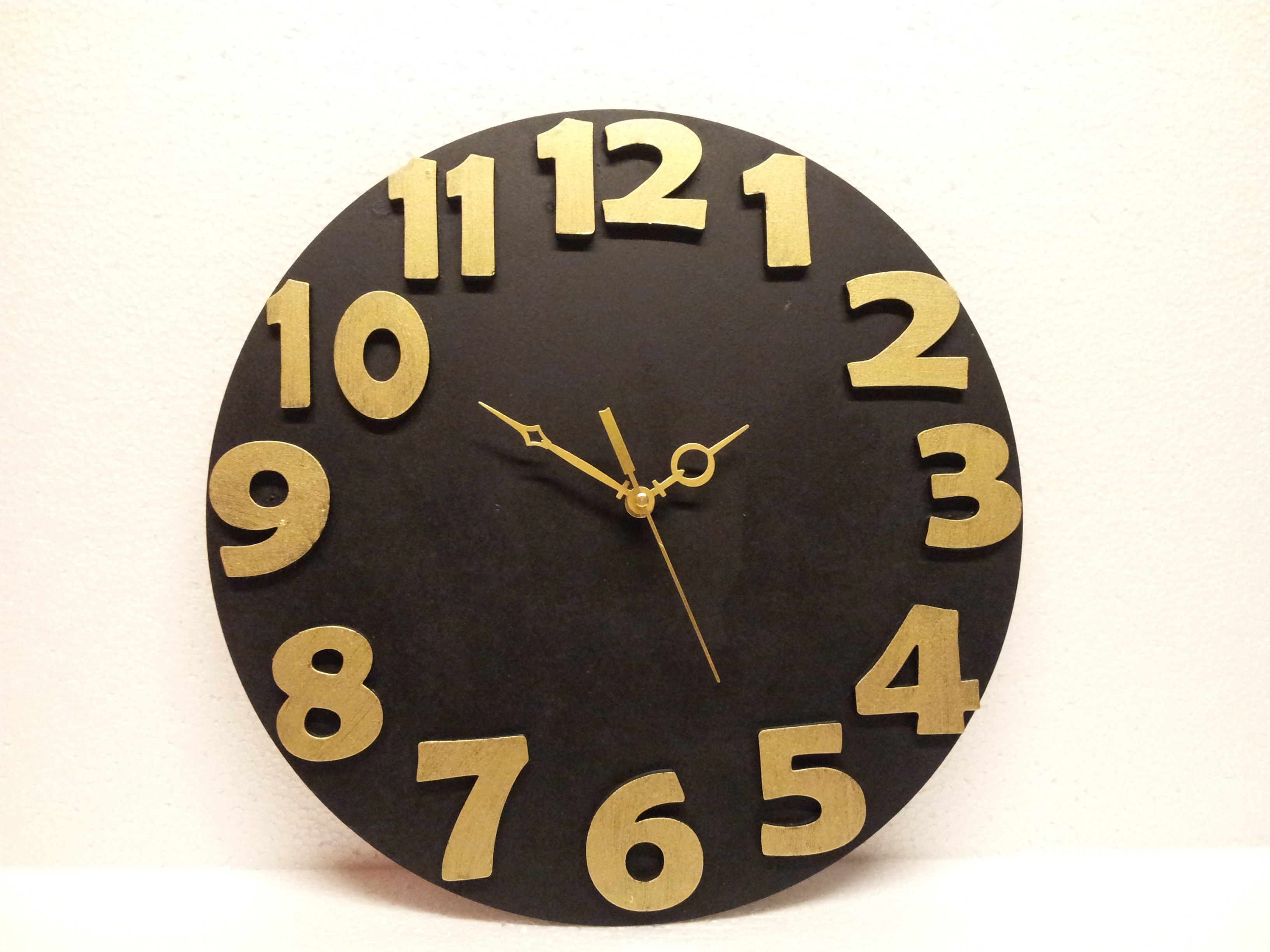 Designer Modern Art Contemporary Wall Clock Watch Time