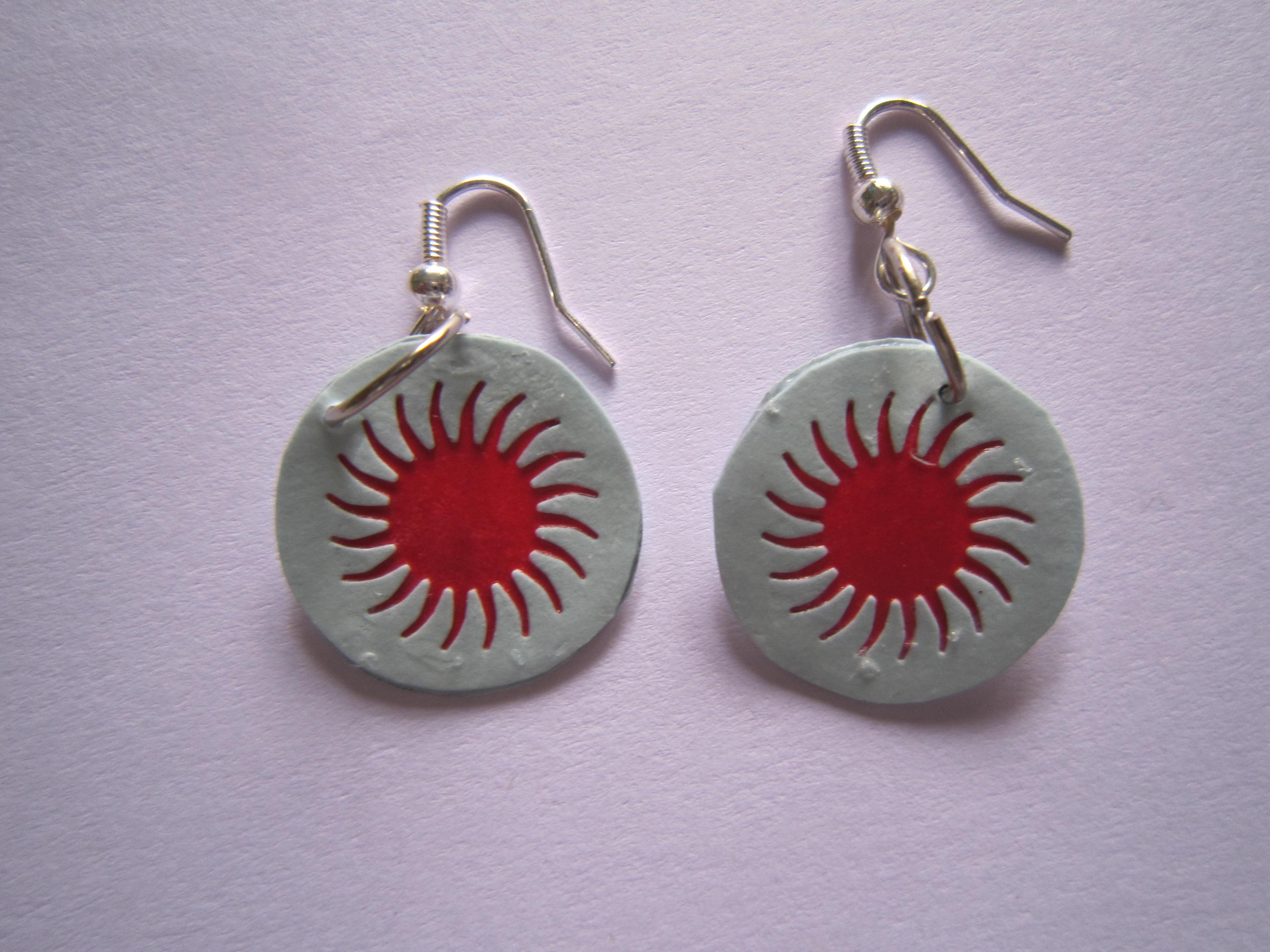 paper earrings handmade paper jewellery tutorial - photo #25