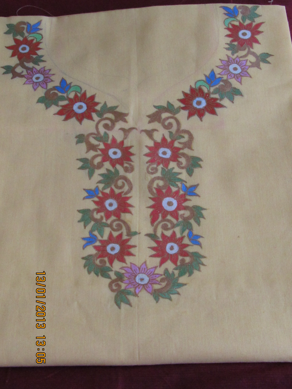 Hand Painted Kurti-Online Shopping-