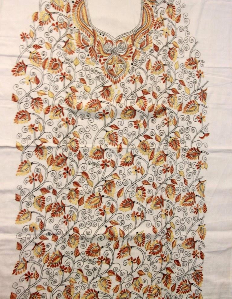 Kantha Embroidery Dress | Makaroka.com