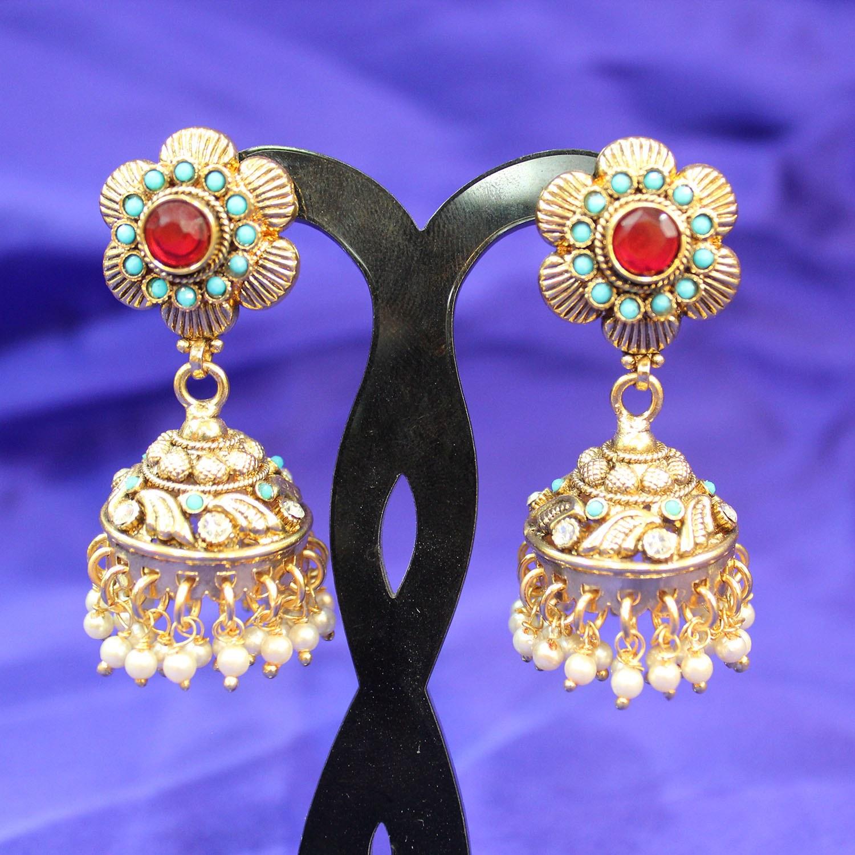 Indian Long Earrings For Wedding