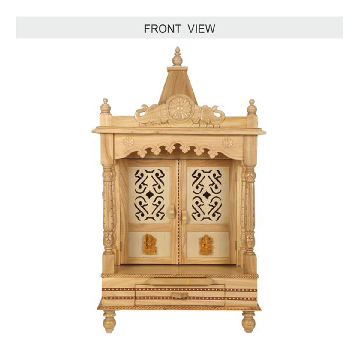 ... Wooden Mandir For Home Joy Studio Design Gallery Best For Home Temple  Designs Wooden ...