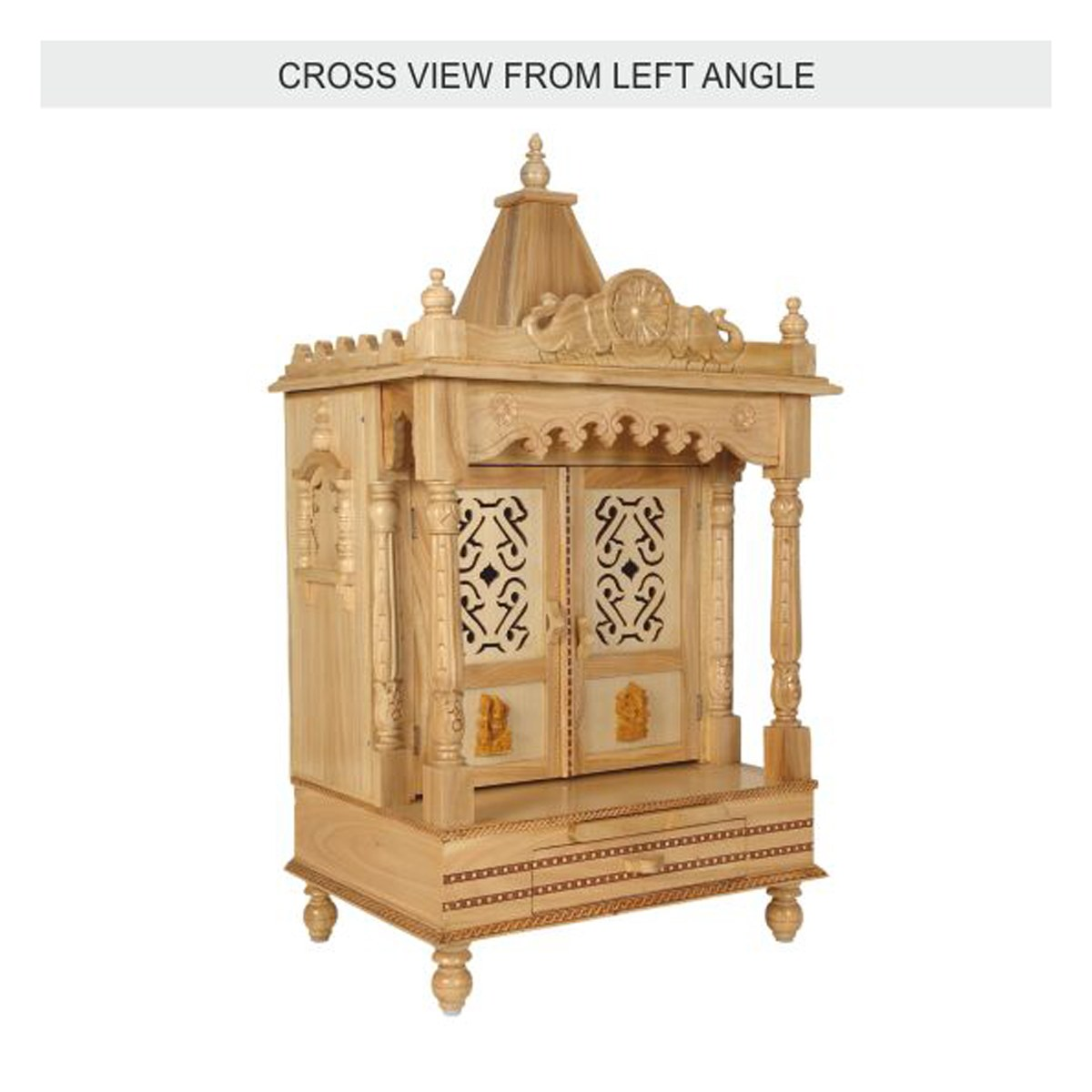 Hindu Pooja Mandir | Wooden Temple | Pooja Mandir