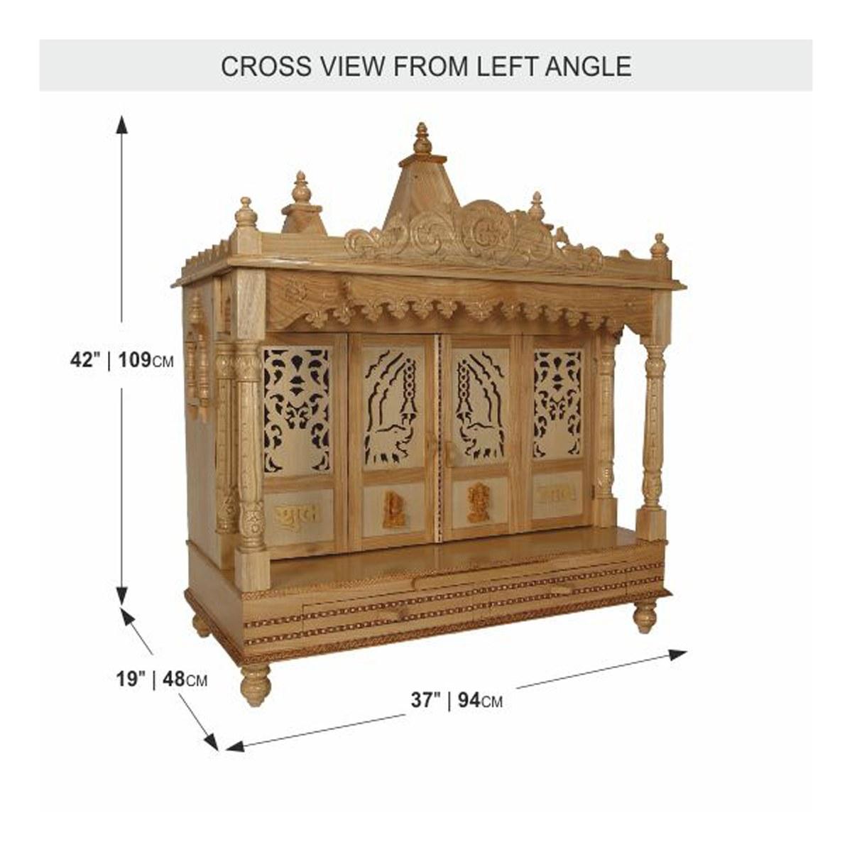 wood mandir joy studio design gallery best design