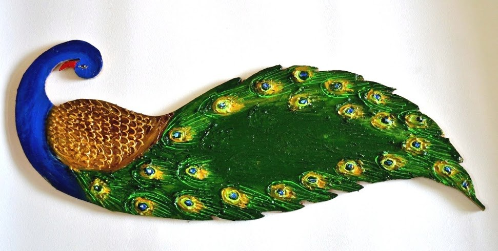 Peacock Name Plate Online Shopping