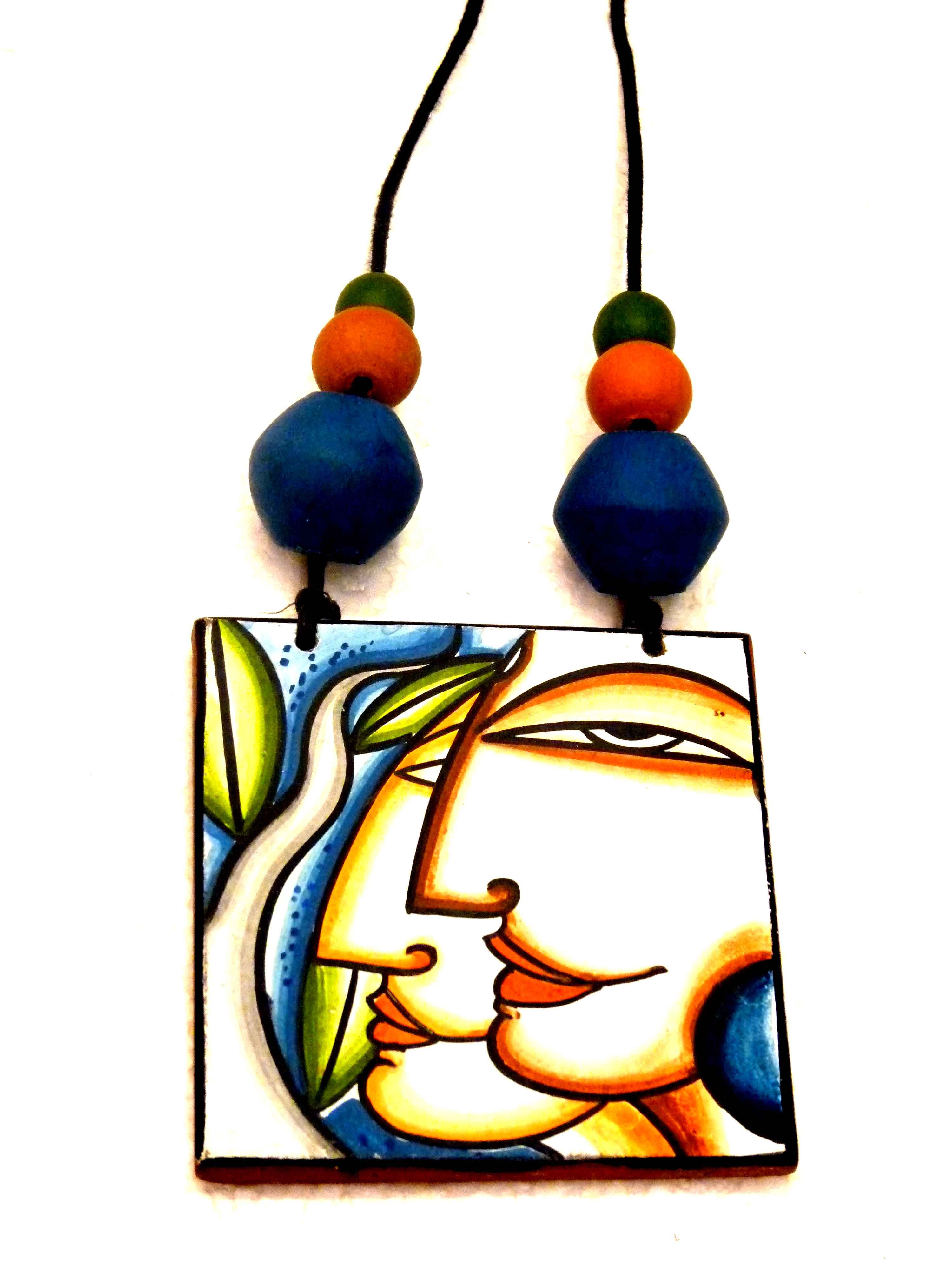 Hand painted mural chain online shopping for Mural jewellery