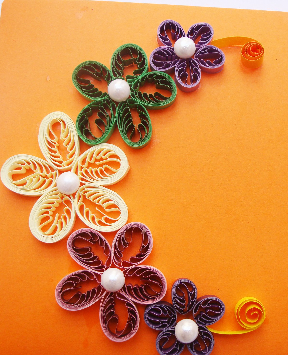 Quilling Paper Flowers With Paper Quilled Flowers
