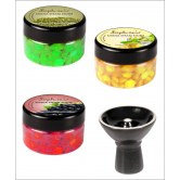 SOPHIES HOOKAH SHISHA STEAM STONES  3 DIFFERENT FLAVOURS + FREE 1 VORTEX BOWL available at Craftsvilla for Rs.375